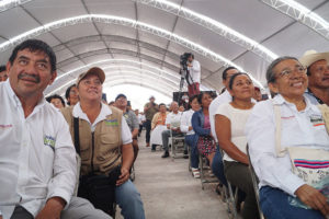 AMLO gets a hero's welcome in Campeche.