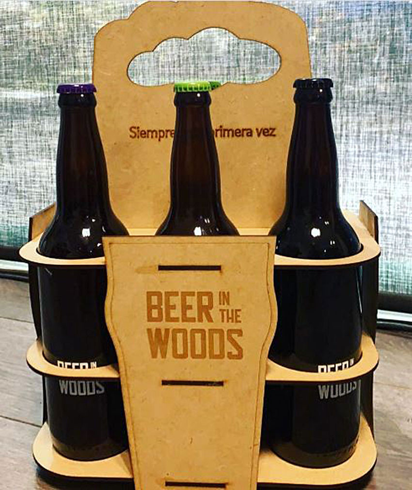 Club members receive six bottles of very different style beers.