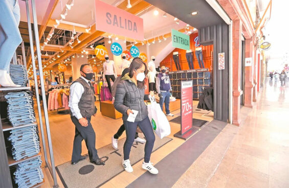 Shopping centers will be allowed to operate at 50% capacity as of Monday.